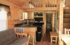 tiny house living room, dining room, and kitchen? Tyni House, Tiny House Cabin, Tiny House Living, Tiny House Plans, Tiny House Design, Tiny Cabins, Tiny House Movement, Small Places, Tiny Spaces