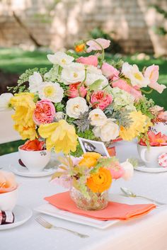 Mother's Day Backyard Tea Party - Photo by Krista Mason Photography