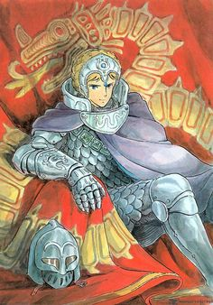 Kushana from Nausicaa of the Valley of the Wind Manga