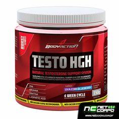 Testo-HGH fornece uma fórmula poderosa e naturalmente precursora da testosterona, através do ZMA, Cálcio Ornitina Quelato, Cálcio Arginina Quelato, Boro e Magnésio Aspartato, que combinados entre si, irão auxiliar na síntese endógena indispensável para balancear os níveis de testosterona e maximizar a construção de massa muscular magra, gerando força e acelerando a redução de gordura