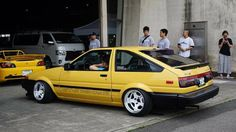 Corolla Wagon, Corolla Ae86, Toyota Corolla, Toyota Celica, Toyota 86, Toyota Cars, Yellow Car, Japan Cars, Import Cars