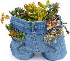 New use for old jeans.