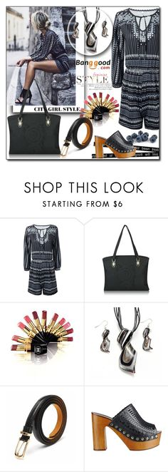 """""""Banggood 2."""" by sirena39 ❤ liked on Polyvore featuring Chanel, Sigerson Morrison and vintage"""