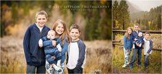 Utah family photographer | Kate Jeppson Photography | Fall family photos | family photography | Utah mountains |  family of 6 | Utah children's photographer