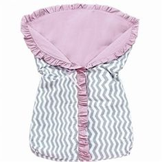 Porta Bebê Baby Chevron Rosa