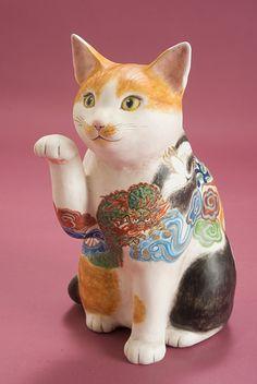 作品No.081 瑞兆招き猫(ずいちょうまねきねこ)