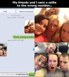 Funny Text To Wrong Number