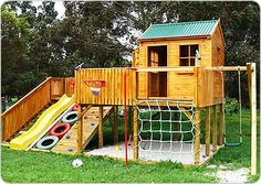 how cool! I got to build this in our backyard!!!
