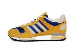 adidas Originals ZX 700-Sunshine/Bliss–True Blue #sneakers #kicks