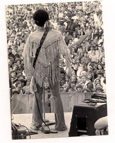 Jimi at Woodstock, 1969 . If you look closely you'll notice a second Vox wah sitting on top of the amp. Hendrix always had spares incase one decided to give up the ghost.