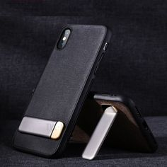 2704d0d1b Purchased JOYROOM TPU + Textile Mobile Phone Case with Kickstand for iPhone  XS Max 6.5 inch - Black