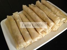 Les secrets de cuisine par Lalla Latifa - Nems légers aux crevettes carotte et courgette