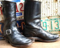Vintage Engineer Boots: 1950'S CHIPPEWA ENGINEER BOOTS - $2,794
