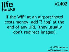 to avoid being redirected on wifi