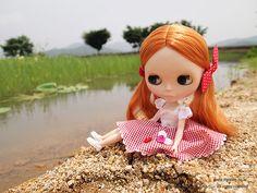 Blythe doll!  love it!