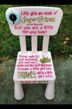 Diy Kids Timeout Chairs