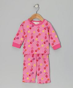 Take a look at this Pink Cherry Caden Organic Top & Bottoms - Infant by Natural Wondies on #zulily today!