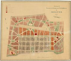 Stadsplan Skellefteå