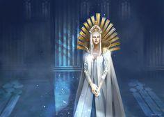 White Queen, Marina Beldiman on ArtStation at https://www.artstation.com/artwork/ob1em
