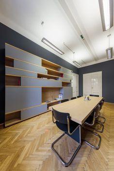 MOBILAMO Massmöbel - Showroom Graz Regal Design, Bespoke Furniture, Showroom, Designer, Conference Room, Interior Design, Home Decor, Graz, Nest Design