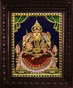Vijaya Lakshmi - 10x8in