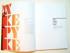 Typography book by Jo Bailey, via Behance