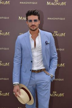 Latest Coat Pant Designs Light Blue Notched Lapel Casual Custom Wedding Suits For Men Beach Groom Jacket 2 Pieces Masculino 437 Mens Fashion Suits, Mens Suits, Mens Casual Suits, Casual Pants, Casual Outfits, Terno Slim Fit, Slim Fit Pants, Mdv Style, Tommy Hilfiger Tailored
