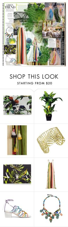 """""""The Fashion Notebook: Urban Jungle"""" by ccclem ❤ liked on Polyvore featuring Proenza Schouler, Better Homes and Gardens, Chanel, Chloé and Theo Fennell"""