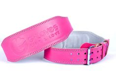 Weightlifting Belt - Hot Pink