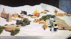 Frank Gehry | Campamento Good Times | Santa Mónica, California | 1984-1985 Frank Gehry, Santa Monica Mountains, Oldenburg, Good Times, Camping, 1984, Painting, California, Studio