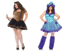 Plus-sized Halloween costumes for women