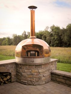 Dome Residential Oven – Maine Wood Heat Co. Outdoor Barbeque, Pizza Oven Outdoor, Outdoor Cooking, Oven Design, Cafe Design, Outdoor Electrical Wire, Pizzeria Design, Fire Pit Grill, Four A Pizza