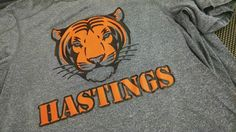 Hastings Tiger  - apparel - t-shirt - tee shirt - design - screen print - screenprint - Kearney Nebraska - Shirt Shack