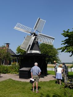 Molen in Warffum Openlucht museum. Groningen Holland