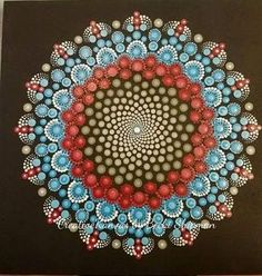 Check out this item in my Etsy shop https://www.etsy.com/listing/539843690/3d-handmade-acrylic-dotted-mandala