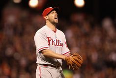 Cliff Lee 10 Shutout innings with a loss...what a heartbreak