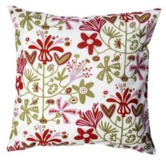 Klippan Alma Red Cushions now in the sale at www.northlighthomestore.com