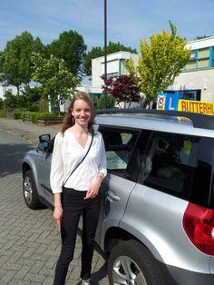 Blije leerling! http://www.rijschoolbutterhuizen.nl/gratis-proefles-aanvragen