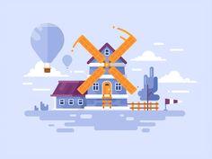 Explore new places! by DAN Gartman for Fireart Studio