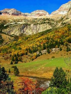 Parque Natural Posets-Maladeta  Huesca,Pirineos.  Spain