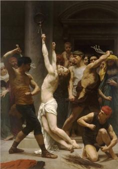 Flagellation of Our Lord Jesus Christ - William-Adolphe Bouguereau