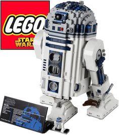 Lego R2-D2 [ 2.100 pieces ] =)