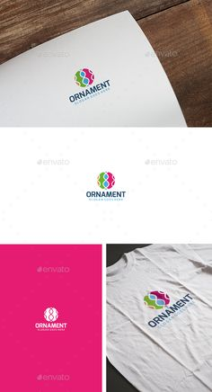Ornament Creative Logo — Vector EPS #coffee #internet • Available here → https://graphicriver.net/item/ornament-creative-logo/13538231?ref=pxcr
