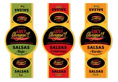 Packaging design for Lucy Obregon's Creative Mexican Cuisine by kseka