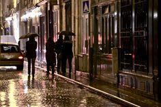 Rainy night, Paris