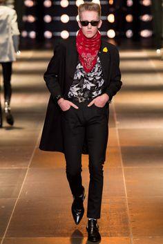 Saint Laurent Spring 2014 Menswear Collection Photos - Vogue