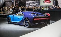 2017 Bugatti Chiron: $2.6 Million, 261 mph! - Photo Gallery of auto show news from Car and Driver - Car Images - Car and Driver
