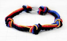 DIY: rope knot necklace