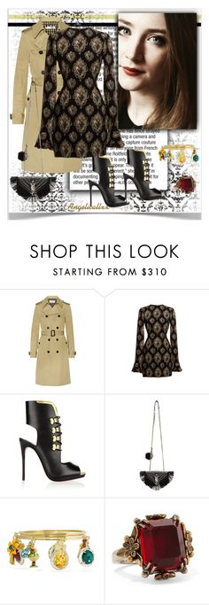 """""""Bell"""" by angelicallxx ❤ liked on Polyvore featuring Yves Saint Laurent, Dolce&Gabbana, Christian Louboutin, Alexander McQueen, women's clothing, women, female, woman, misses and juniors"""