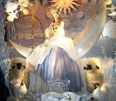 Bergdorf Goodman window: The Seasons: Autumn (golden harvest) by Viridia, via Flickr